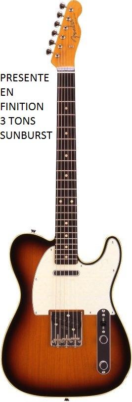 Fender Telecaster Japan Fuji Classic 62 Custom Black Series