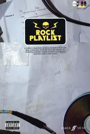 Rock Playlist + 2 Cd - Paroles Et Accords