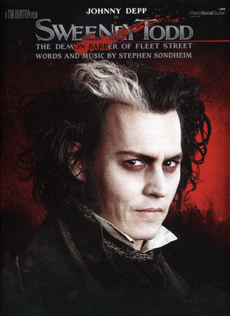 SWEENEY TODD - PIANO VOCAL