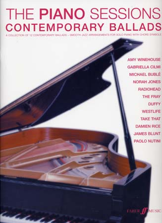 PIANO SESSIONS CONTEMPORARY BALLADS