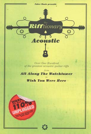 Rifftionary Acoustic - Guitar Tab
