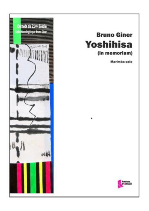 Giner Bruno - Yoshihisa (in Memoriam) - Marimba Solo