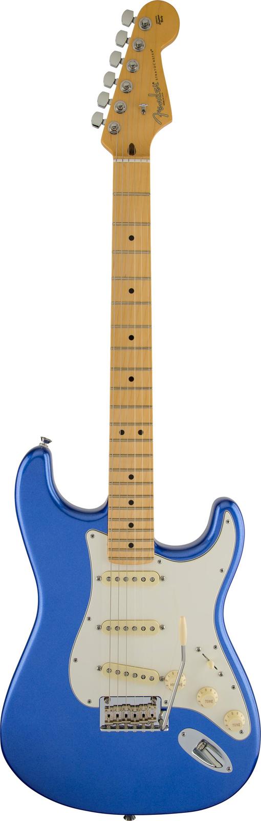 Fender American Standard Stratocaster Ocean Blue Metallic + Etui
