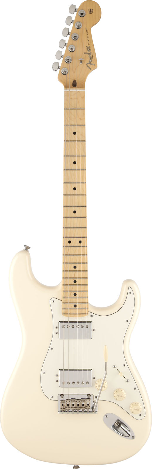 Fender Stratocaster American Standard 2014 Hh Olympic White + Etui