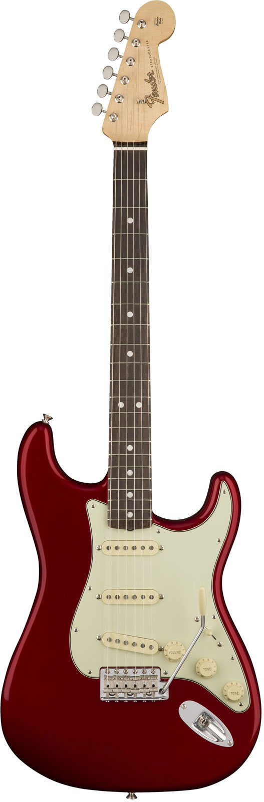 Fender American Original 60s Stratocaster Rw Candy Apple Red