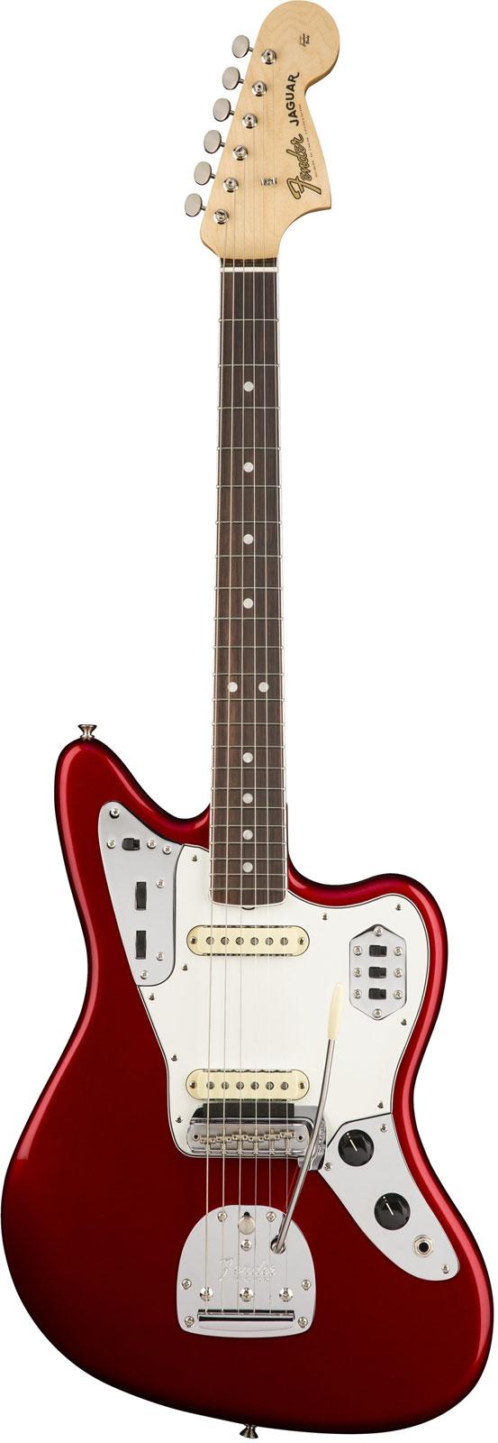 Fender American Original 60s Jaguar Rw Candy Apple Red