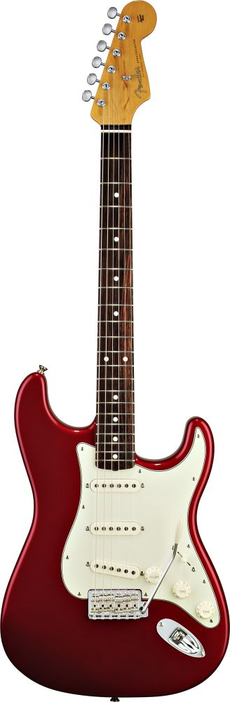 Fender Stratocaster Mexican Classic 60s Candy Apple Red + Housse