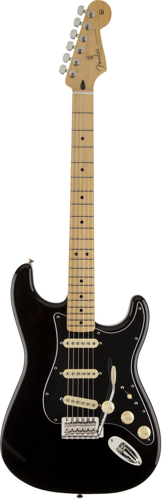 Fender Stratocaster Mexican Black Mn