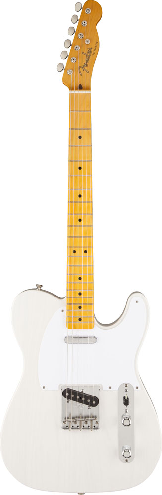 Fender Telecaster Mexican Classic Series '50s Lacquer White Blonde + Etui