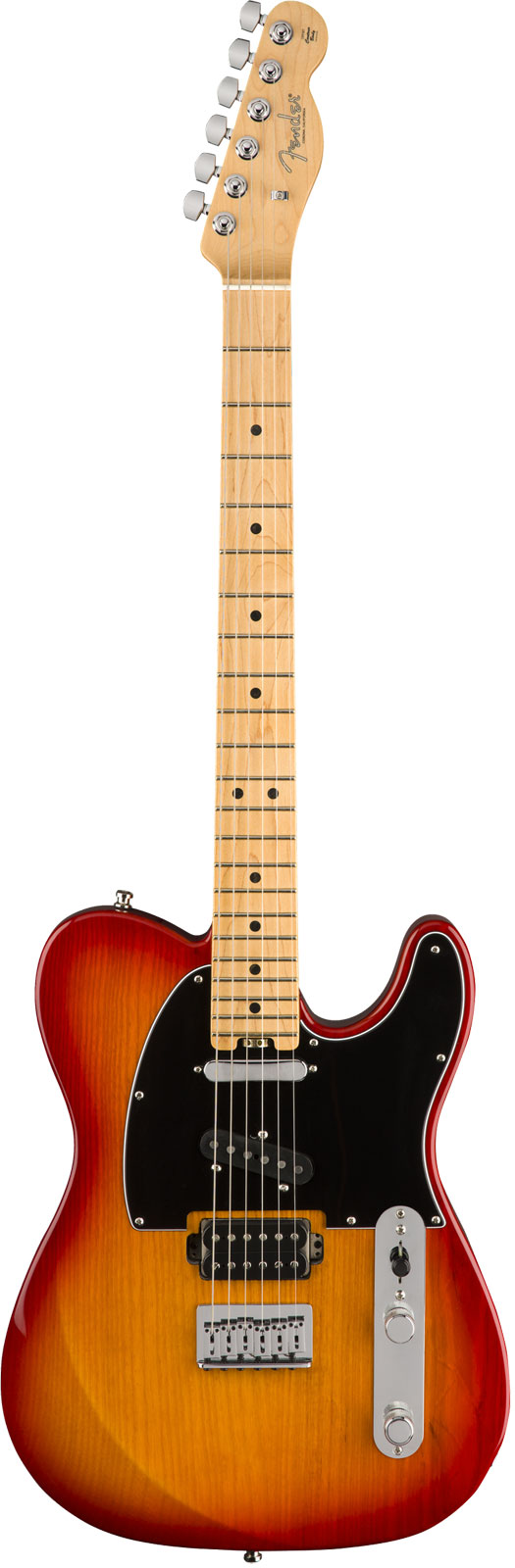 Fender Am Elite Nashville Telecaster Mn Aged Cherry Burst