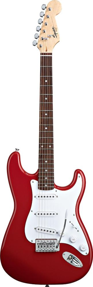 Squier By Fender Stratocaster Fiesta Red Bullet
