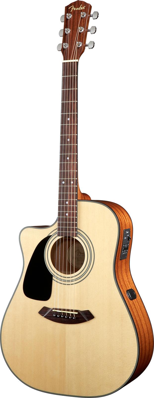 Fender Gaucher Cd 100ce L/h V2 Natural