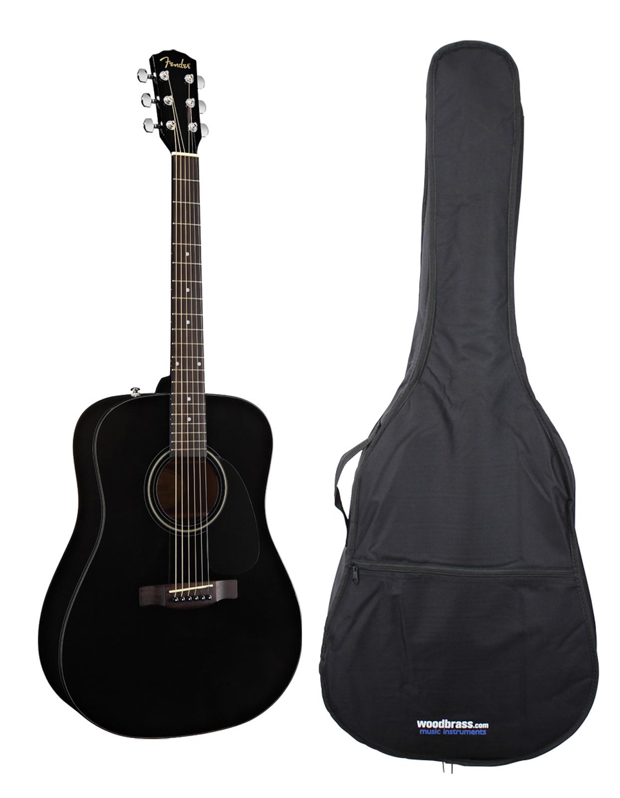 Fender Cd 60 Black V2 + Housse