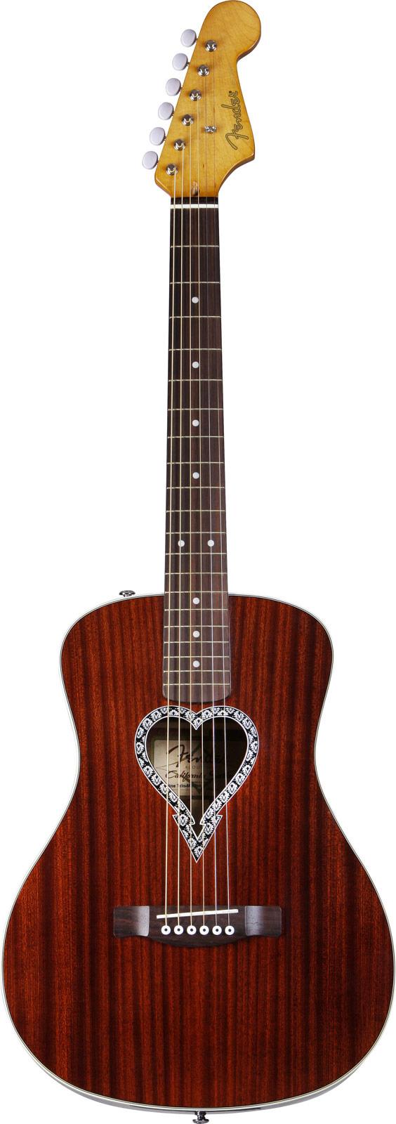 Fender Alkaline Trio Malibu Acajou