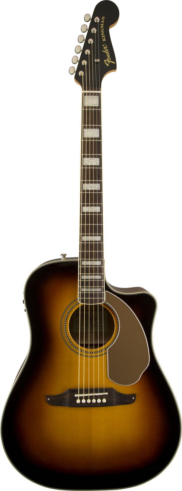 Fender Kingman Asce V3 Sunburst + Etui