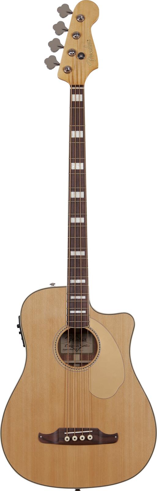 Fender Kingman Bass V2 Natural + Etui