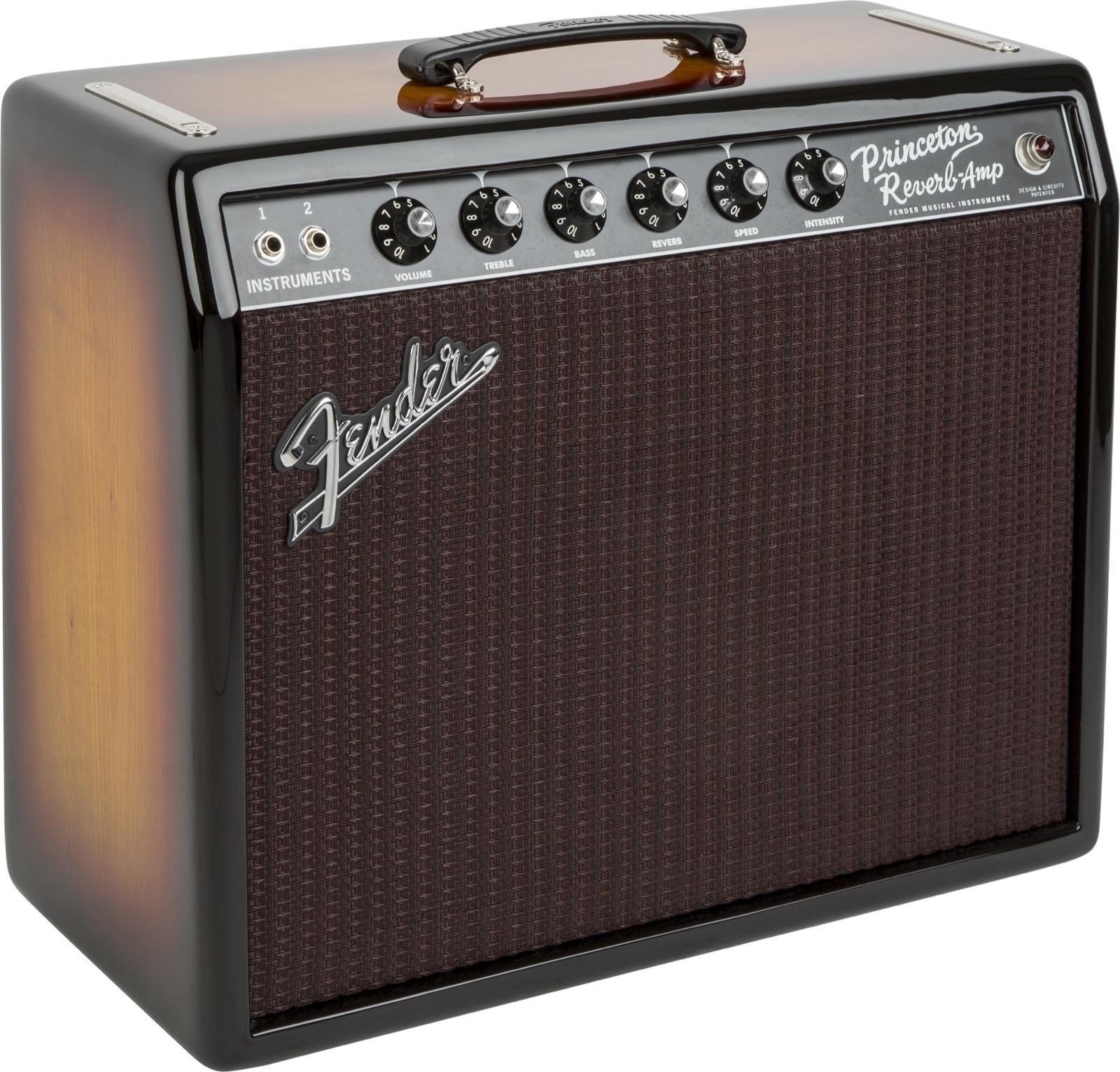 Fender Princeton Fsr Ash Gold Sunbust 3 Tons