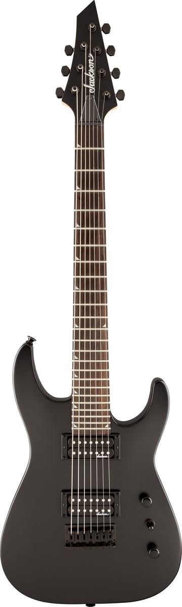Fender Jackson Js22-7 Dinky Satin Black