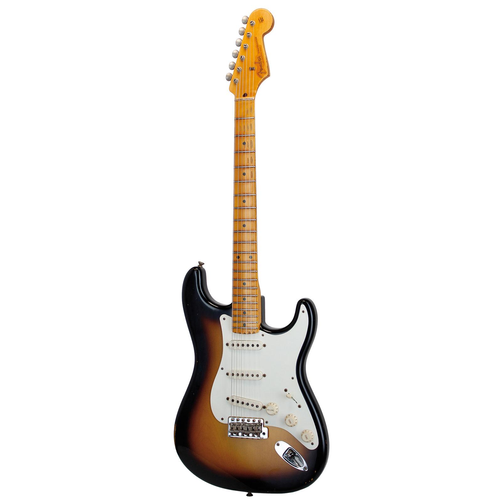 Fender Ger14-114 57 Stratocaster Relic 2 Tone S/b