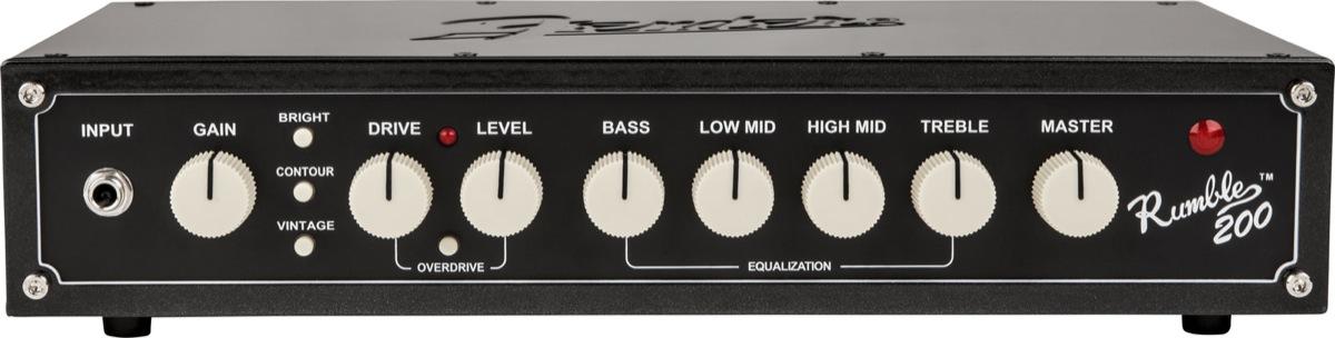 Fender Rumble 200 V3 Tete