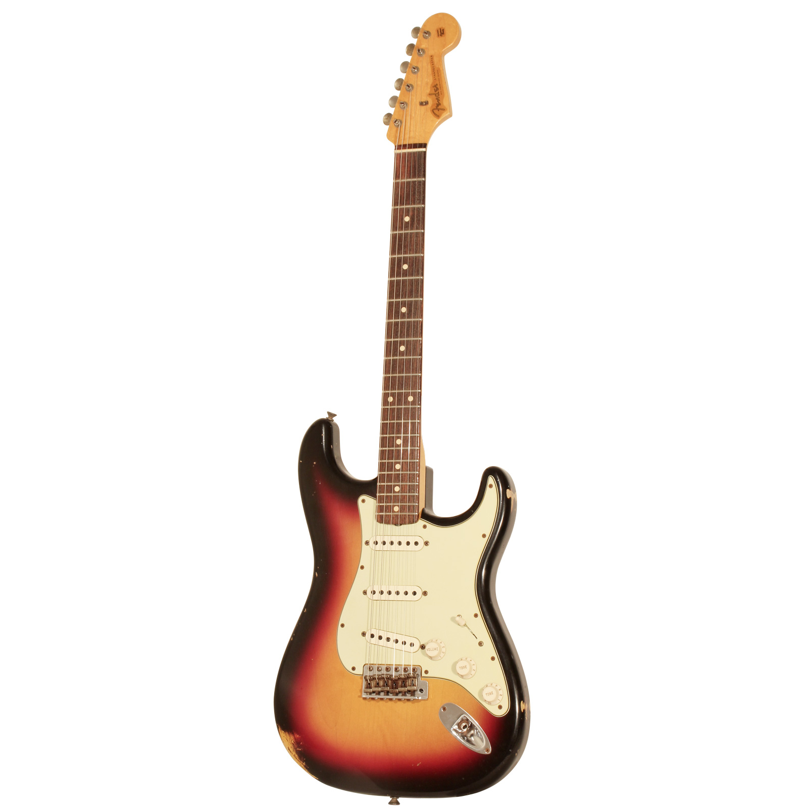 Fender Custom Shop 60 Stratocaster Relic 3 Tone Sunburst + Etui