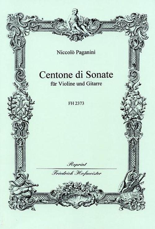 Paganini Niccolo - Centone Di Sonate - Violon and Guitare