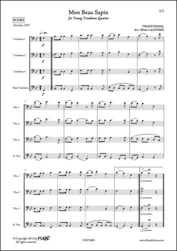 Partitions : Mon beau sapin (Piano, Voix)