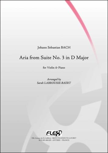 Bach J. S. - Aria De La Suite No. 3 En Re Majeur - Violon Et Piano