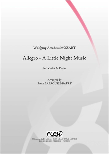 Mozart W. A. - Allegro - Petite Musique De Nuit - Violon Et Piano