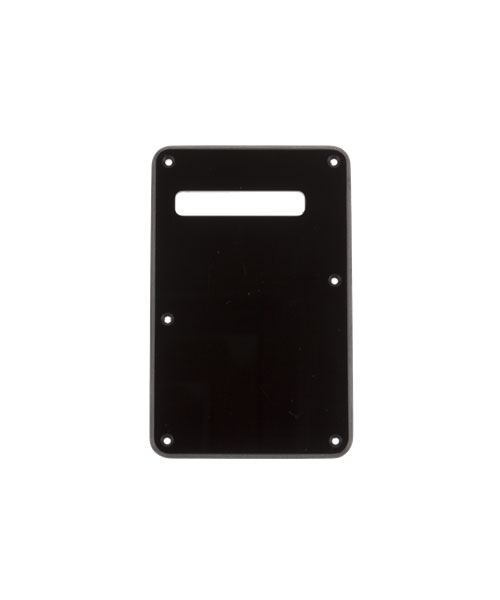 BACKPLATE STRATOCASTER BLACK 1-PLY