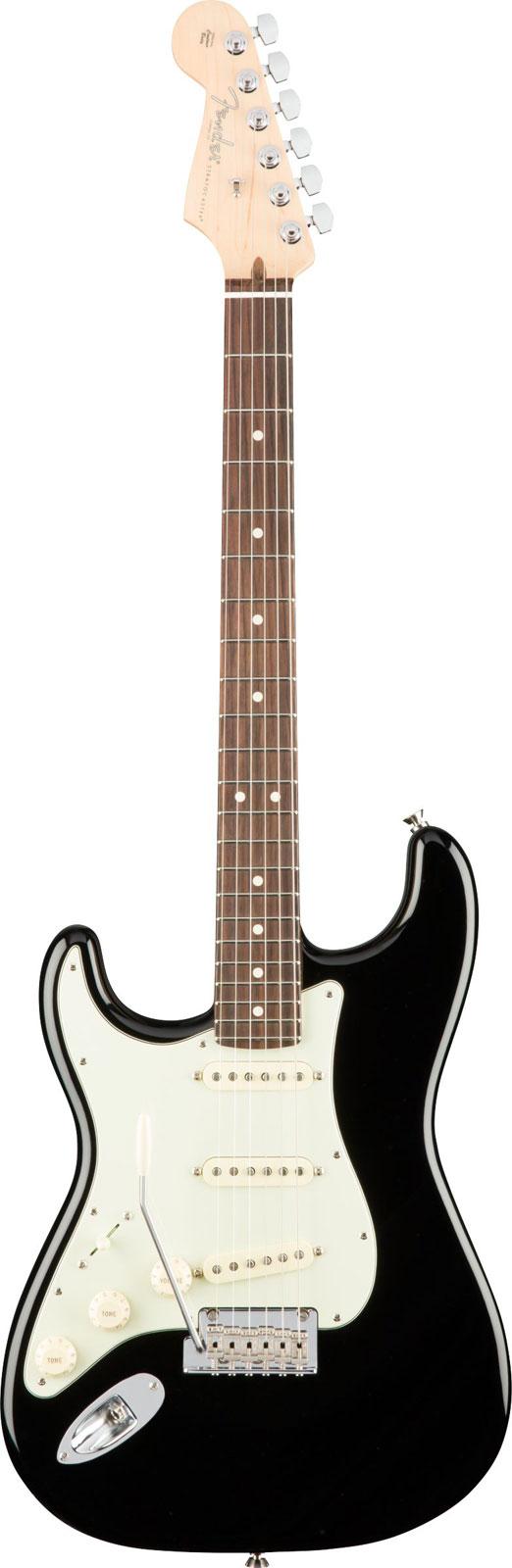 Fender Gaucher American Professional Stratocaster Lh Rw Black