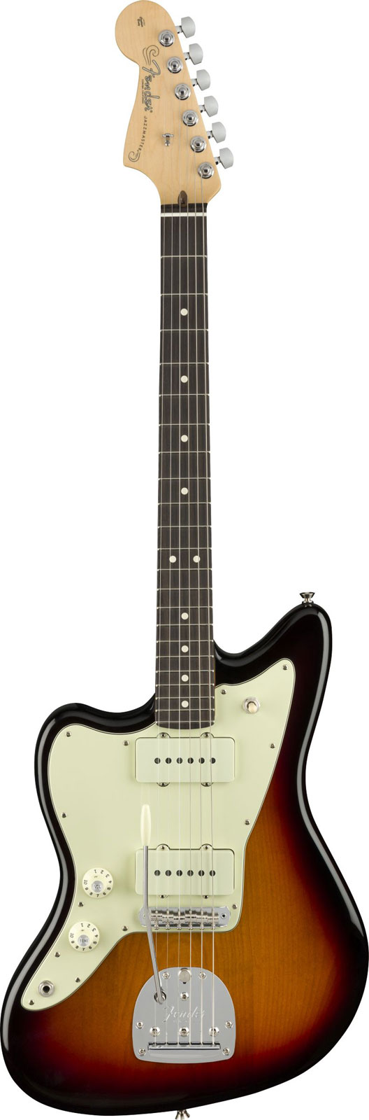 Fender American Professional Left-handed Jazzmaster Rw 3-color Sunburst