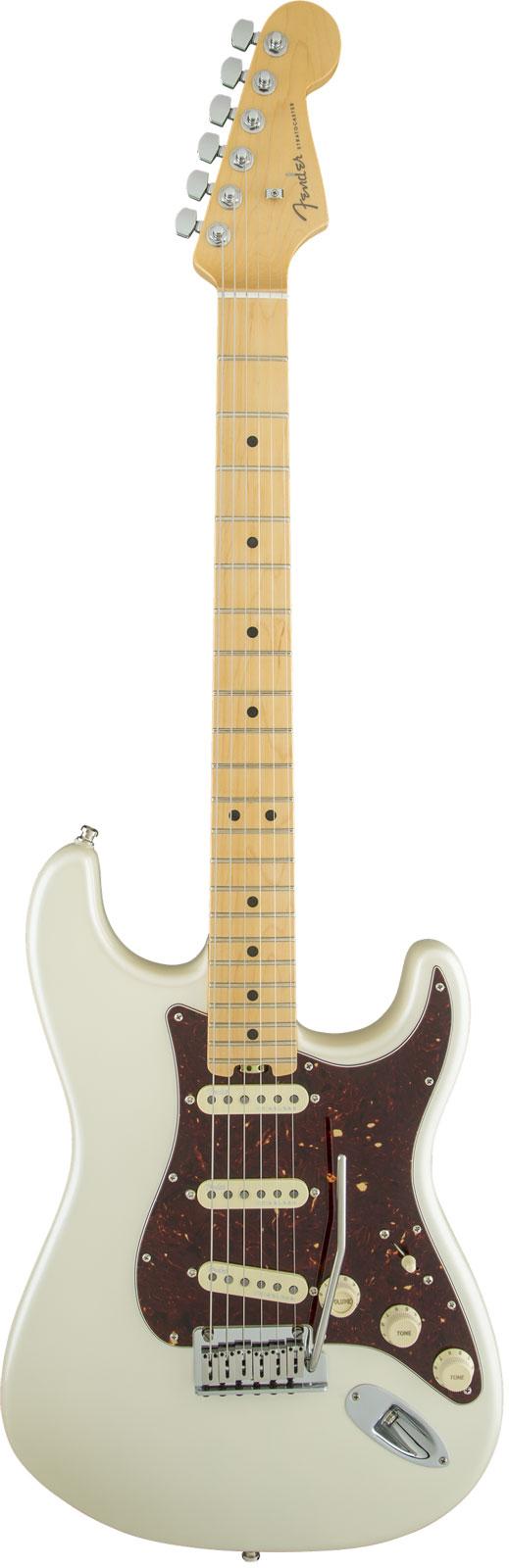 Fender American Elite Stratocaster Mn Olympic Pearl + Etui