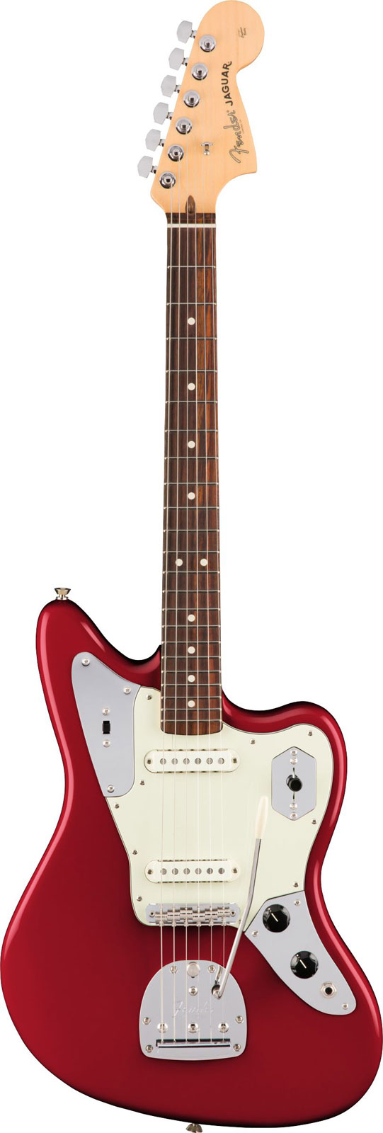 Fender American Pro Jaguar Rw Candy Apple Red