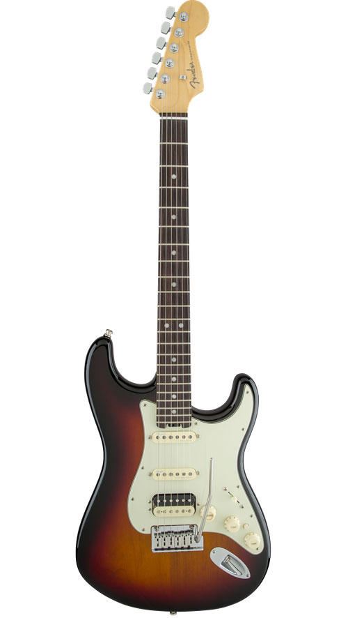 Fender American Elite Stratocaster Hss Shawbucker Eb 3 Color Sunburst
