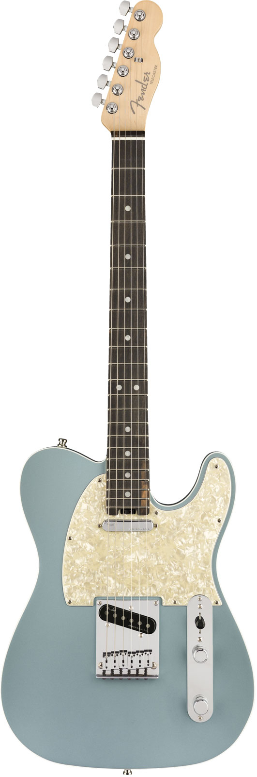 Fender American Elite Telecaster Satin Ice Blue Metallic