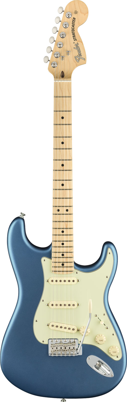AMERICAN PERFORMER STRATOCASTER MN SATIN LAKE PLACID BLUE