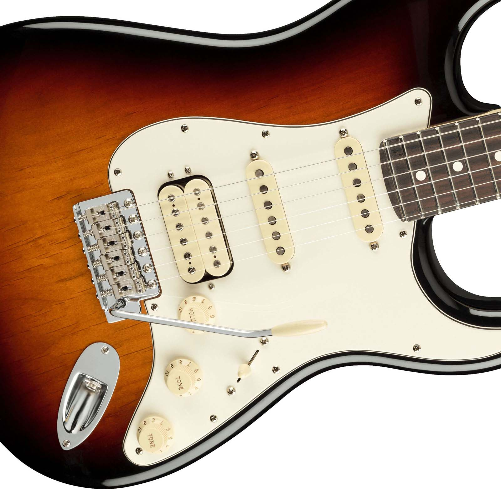 AMERICAN PERFORMER STRATOCASTER HSS RW 3-COLOR SUNBURST