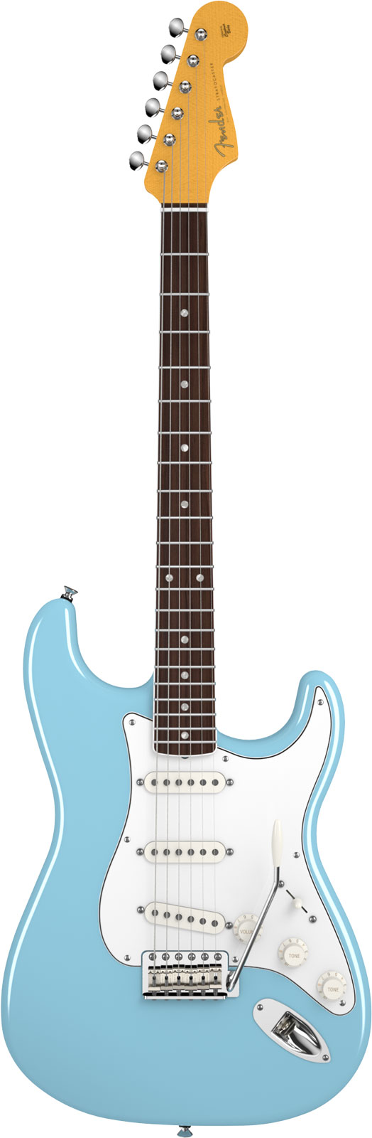 Fender Stratocaster Signature Eric Johnson Rn Tropical Turquoise + Etui