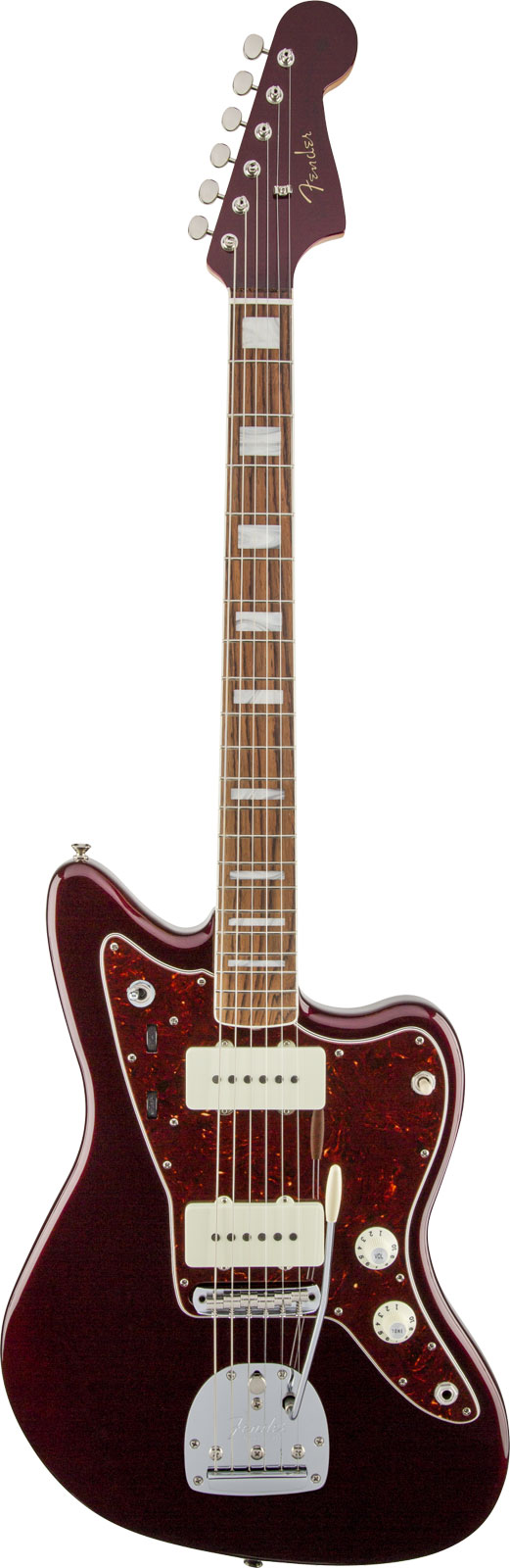 Fender Troy Van Leeuwen Jazzmaster Oxblood