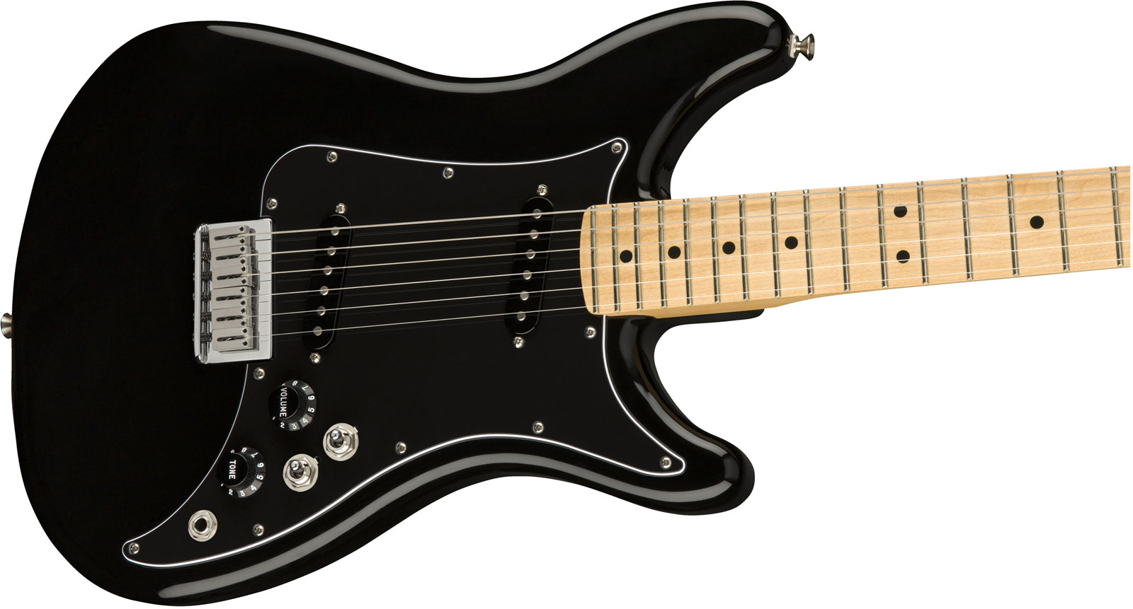 STRATOCASTER PLAYER LEAD II PF BLACK