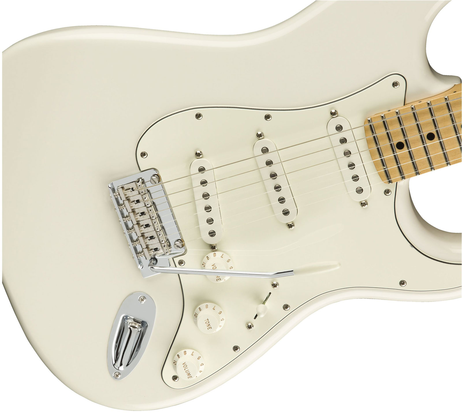 PLAYER STRATOCASTER MN POLAR WHITE