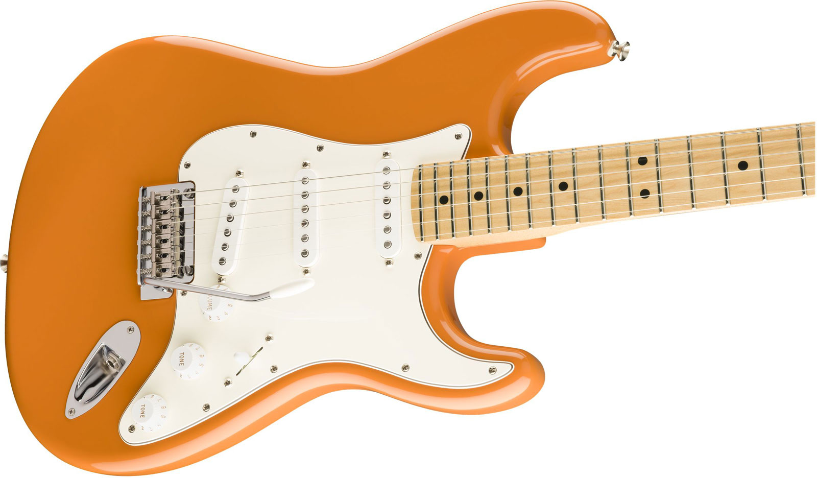PLAYER STRATOCASTER MN CAPRI ORANGE