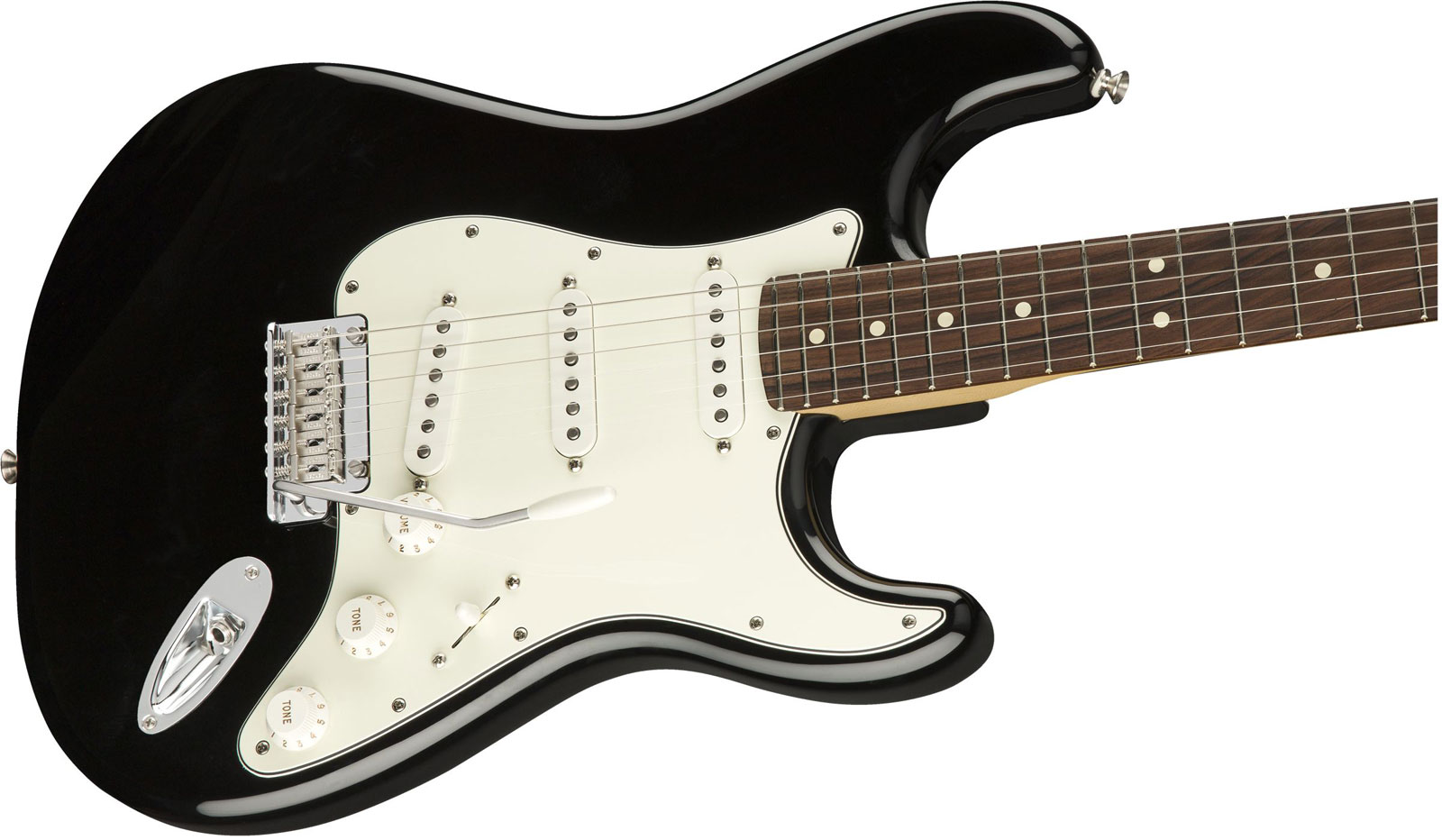 PLAYER STRATOCASTER PF BLACK