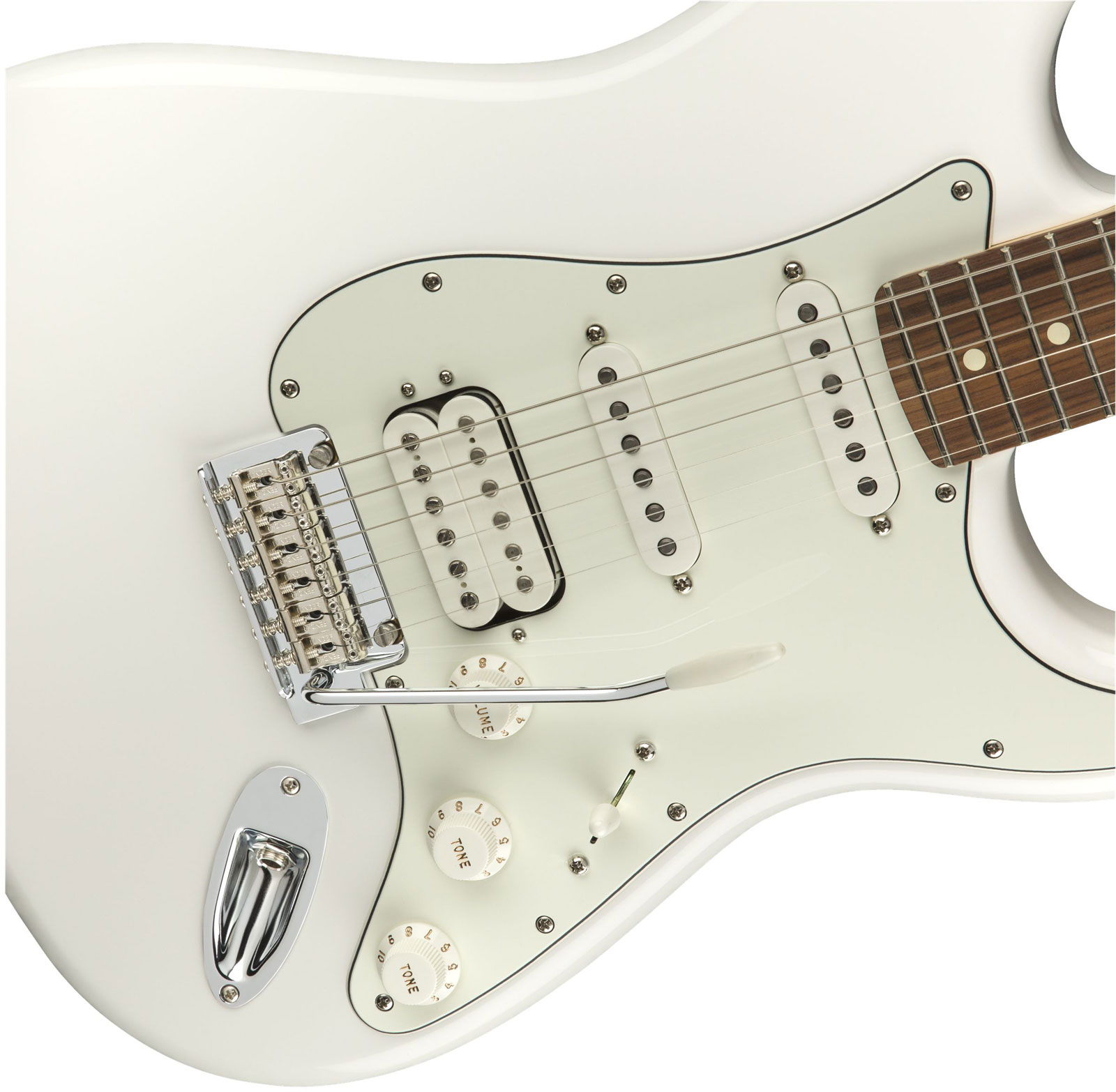 PLAYER STRATOCASTER HSS PF POLAR WHITE