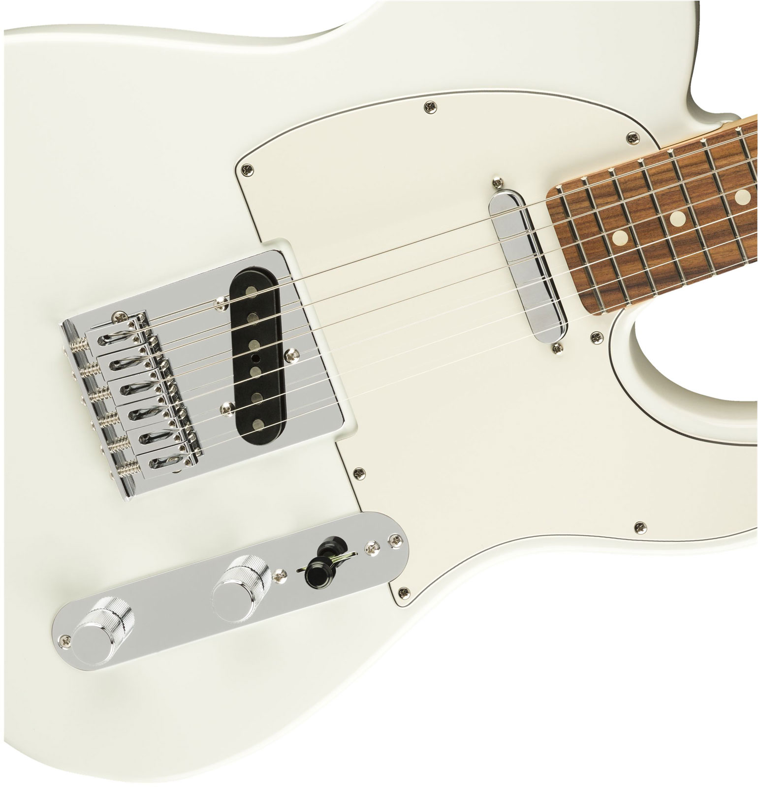 PLAYER TELECASTER PF POLAR WHITE