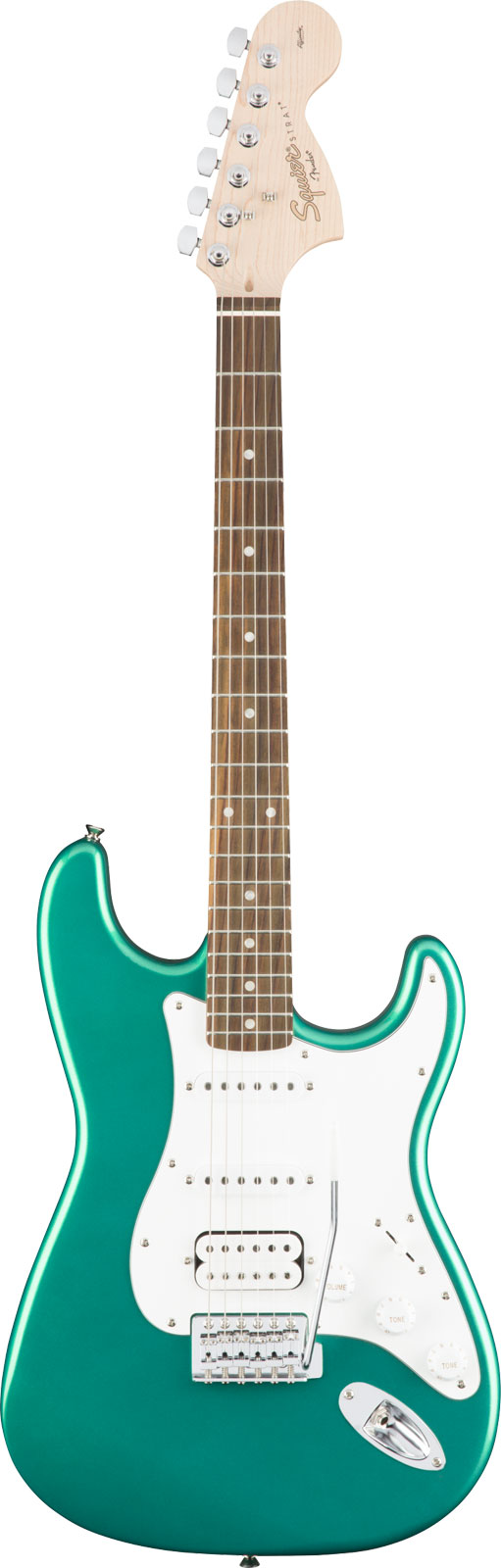 Squier By Fender Affinity Series Stratocaster Hss Laurel Fingerboard Race Green