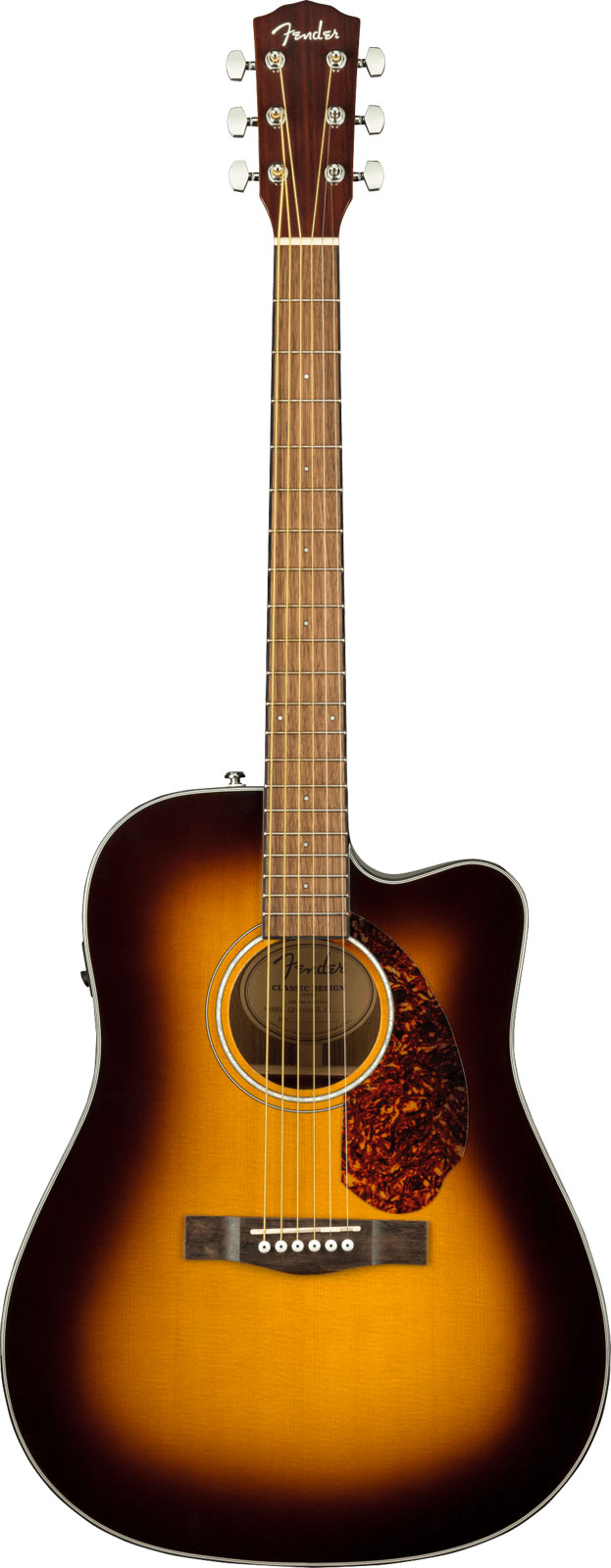CD-140SCE DREADNOUGHT WLN SUNBURST W/CASE