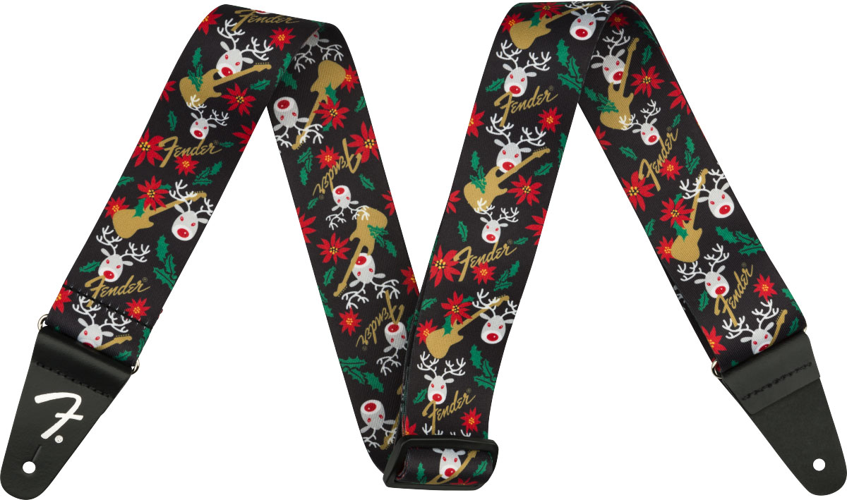 UGLY XMAS SWEATER STRAP REINDEER