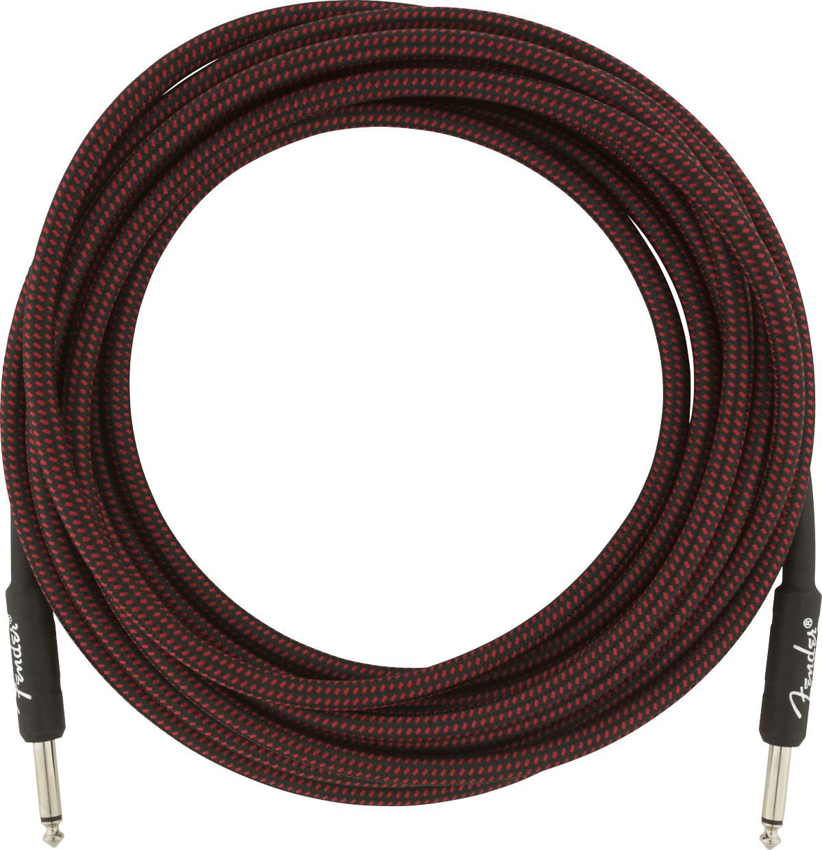 PROFESSIONAL SERIES INSTRUMENT CABLE 18.6' RED TWEED